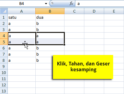 drag-cell-excel-2007