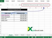 membuat link antar sheet excel fungsi hyperlink