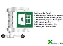 cara kompres file excel dengan mudah