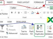 menghapus data ganda dengan remove duplicates