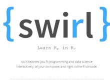 Belajar R dengan swirl