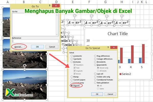 Menghapus Banyak Gambar di Excel Cara Manual dan VBA - KiatExcel.com